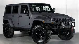 White Lifted Jeep 2015 Jeep Wrangler Unlimited Custom Lifted Unlimited 4x4