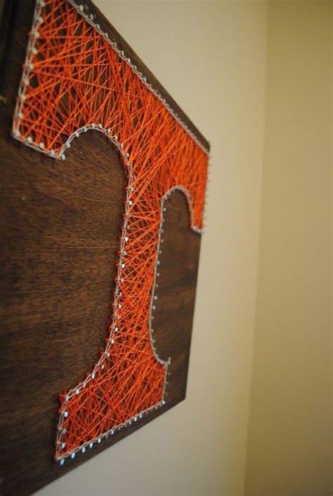 Tennessee String - tennessee volunteers stained nail tennessee and