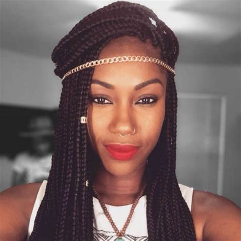 gold hair for braids three ways to bling out your box braids with jewelry un ruly