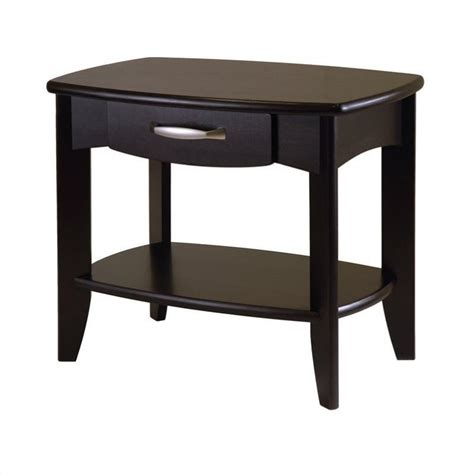 Espresso End Tables by End Table In Espresso Finish 92824