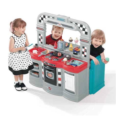 Step 2 50's Diner   Toys & Games   Pretend Play & Dress Up   Kitchen & Housekeeping Playsets