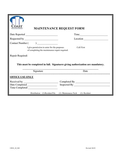best photos of service request form template it service