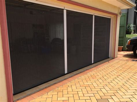 Garage Door Mesh Screen by Hiss Pleated Retractable Insect Screens