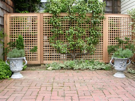 Garden Screening Privacy Ideas Fence Gate Wall Designs On Wrought Iron Fences Lattice Fence And Iron Fences