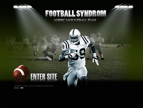 American Football Easy Flash Template Id 300110137 Free Football Program Templates