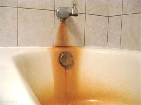 brown stains in bathtub which system do i need to remove iron ask the water doctor