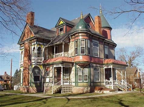 victorian mansions haunted house garden grove iowa historic queen anne