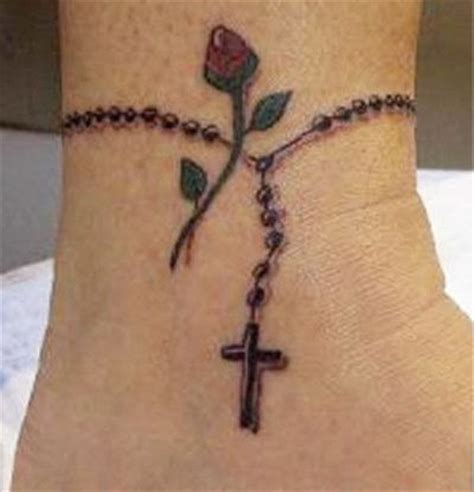 wrist rosary tattoo designs rosary tattoos