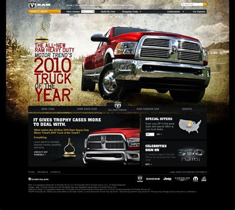 website showcase dodge ram trucks
