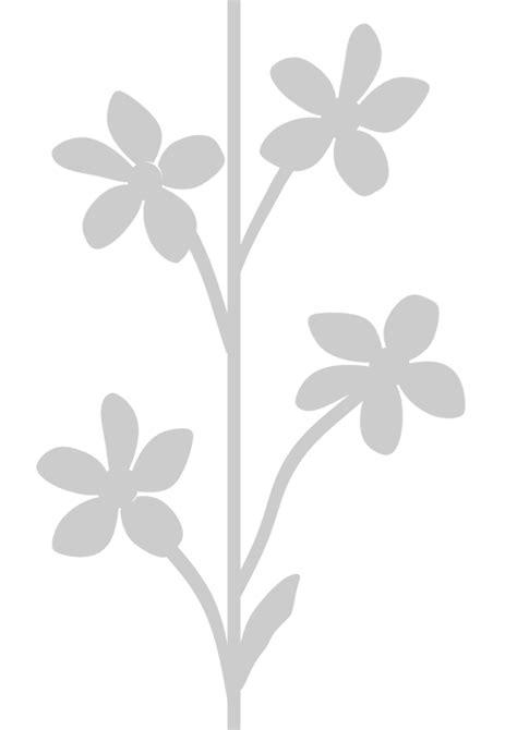 stencil fiore stencil fiori da stare steria store rdb048 steria