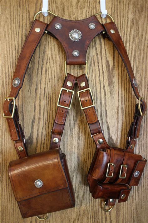 Handmade Leather Shoulder Holster - everyday carry shoulder holster everyday carry holsters