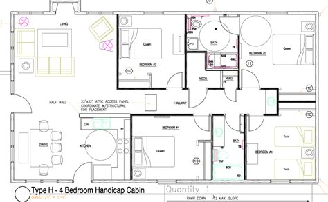 handicap accessible modular home floor plans handicap floor plans nabelea com