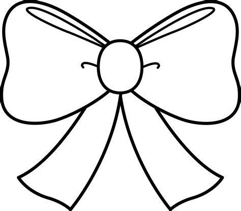 template of a bow bow coloring page coloring book bow