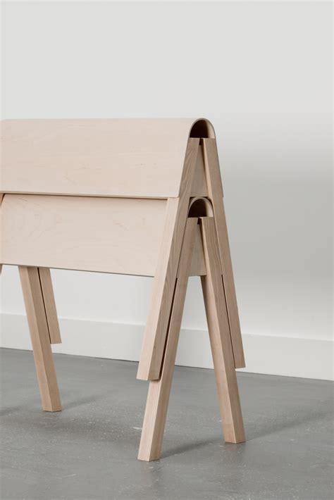 Plywood Design Catherine Aitken Studio Aero Trestle Table