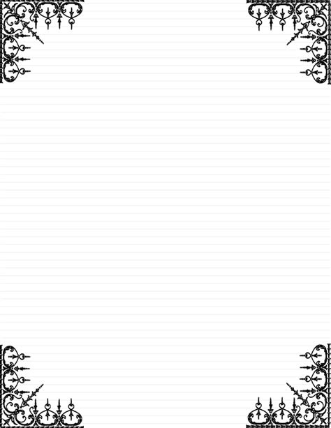 Day 5 Write A Note Card Or Short Letter To A Loved One Letter Stationery Template