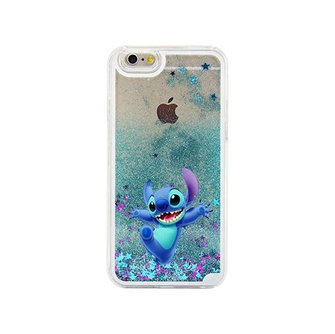 Premium Glitter Iphone 55s Limited for iphone 6 stitch lovely blue glitter liquid