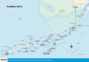 Florida Keys Map by Travel Map Of The Florida Keys