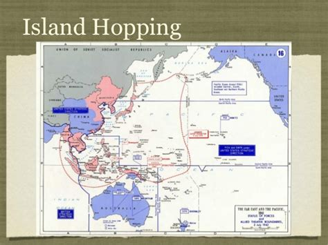 island hopping across the pacific theater in world war ii the history of americaã s leapfrogging strategy against imperial japan books power point lesson 14 world war ii pacific theater