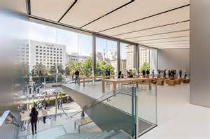 Home Design Stores San Francisco green filled san francisco union square store by foster partners