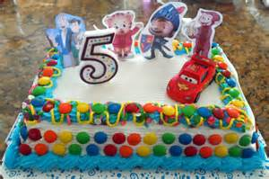 5th birthday rainbow friends ice cream cake