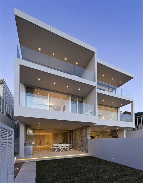 Modern Duplex Plans | modern duplex with views of sydney harbour idesignarch