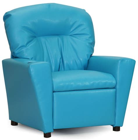 juvenile recliner juvenile turquoise kids recliner with cup holder from kidz