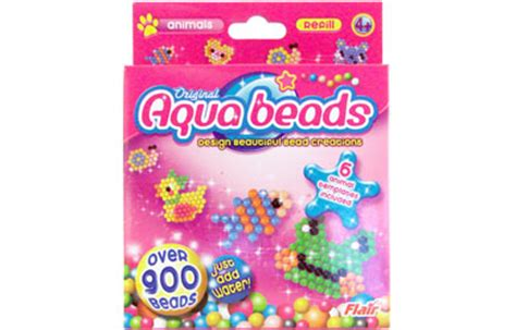 aqua bumper bead refill pack pin animal pony bead patterns crafts scout free on