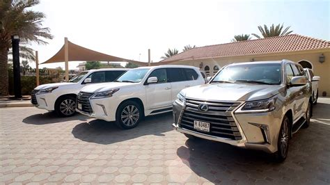 All 2016 Lexus Lx Launch In Dubai