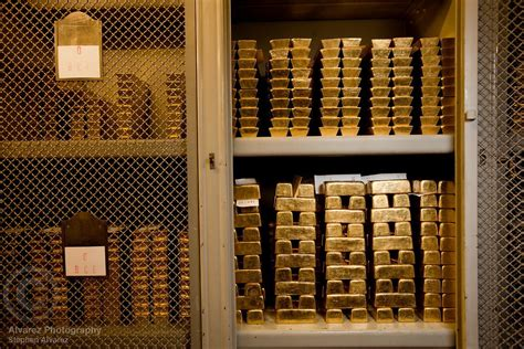 Gold Ank 1 alvarez photography print and stock the gold reserves of