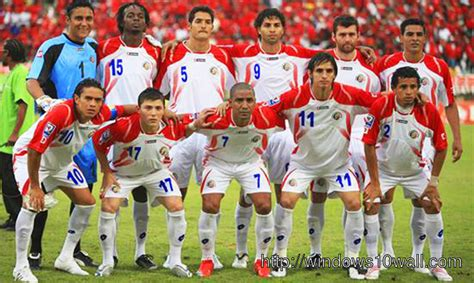 Costa Rica Football Team Team Page 3 Windows 10 Wallpapers