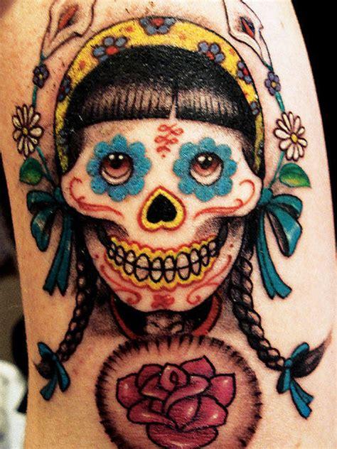 Dia De Los Muertos Tattoos Tattoo Designs Tattoo Pictures Dia De Los Muertos Tattoos Pictures