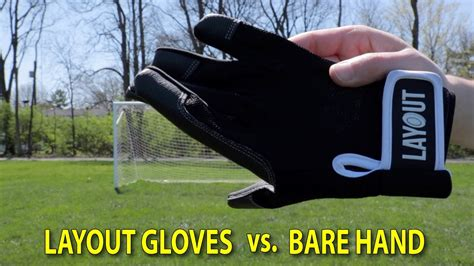 layout gloves vs friction gloves layout ultimate gloves vs bare hand test youtube