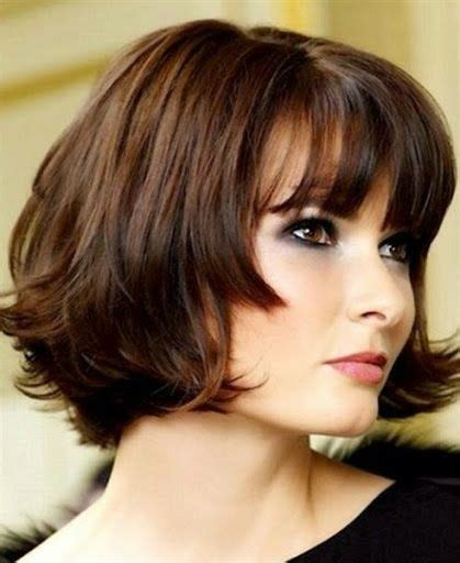 double bob haircut plus size hairstyles double chin flattering hair cuts