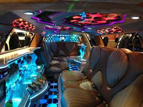 custom chrysler 300 limo interior 21st birthday