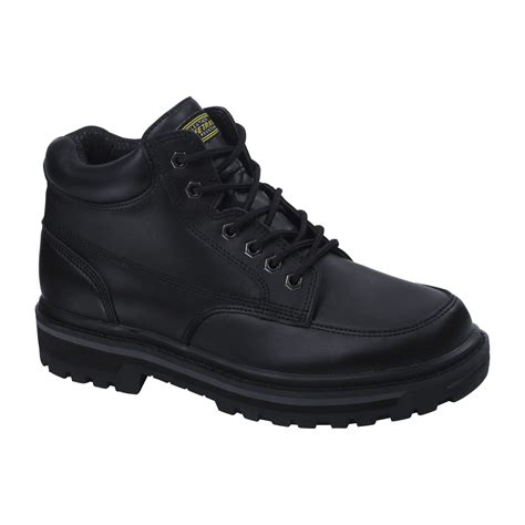 safetrax s karr non skid boot black shoes s