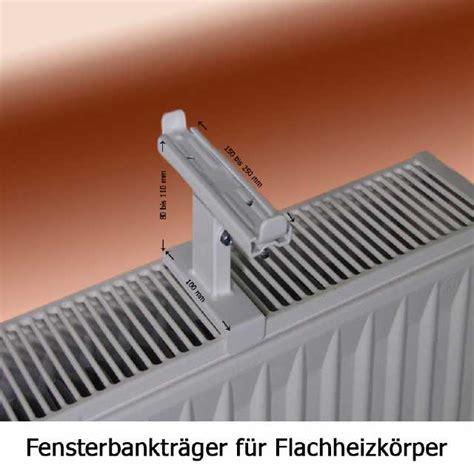 fensterbank konsole fensterbankhalter f 252 r flachheizk 246 rper heizung klemmfix