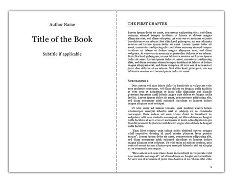 book format converter creating the interior of your book with tredition templates