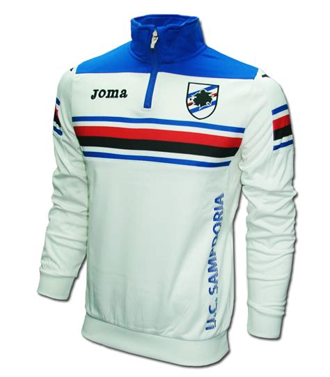 Jaket Samdoria 201415 2015 2016 sdoria joma sweat top white