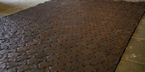 leather rug rugs ideas