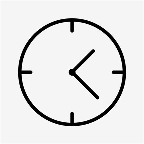 vector clock icon alarm bell clock png  vector  transparent background