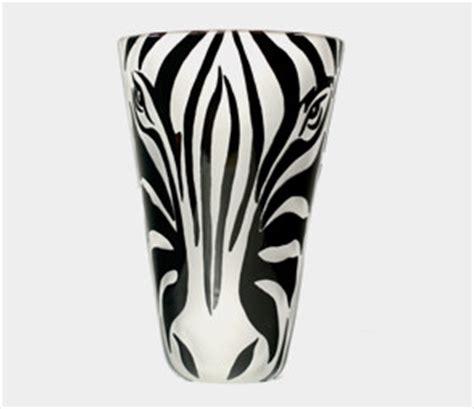 Zebra Print Vases by Black White Zebra Vase