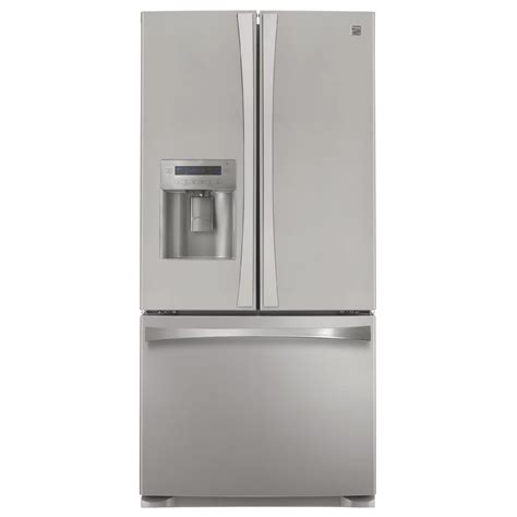 Kenmore Elite Door Refrigerator by Kenmore Elite 71036 25 0 Cu Ft Door Bottom