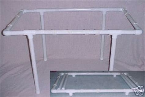 Pvc Quilt Frame Plans quilting frame pvc build your own frame cd easy to build detailed plans ebay