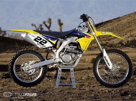 2006 Suzuki Rmz450 2009 Suzuki Rm Z450 Comparison Motorcycle Usa