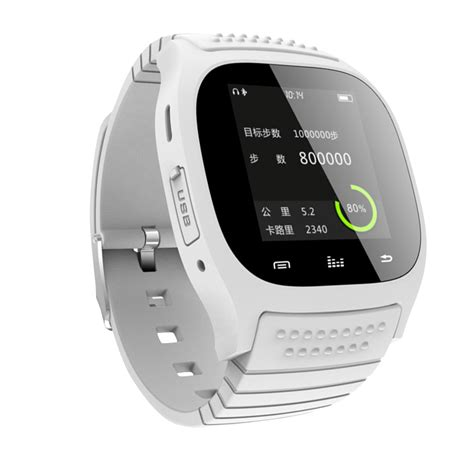 smart for android m26 bluetooth smart wrist phone mate for samsung android htc smartphone ebay