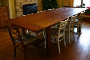 Rustic Dining Room Table Plans German Jello Salad Plan Adjustments For 72 Quot Rustic