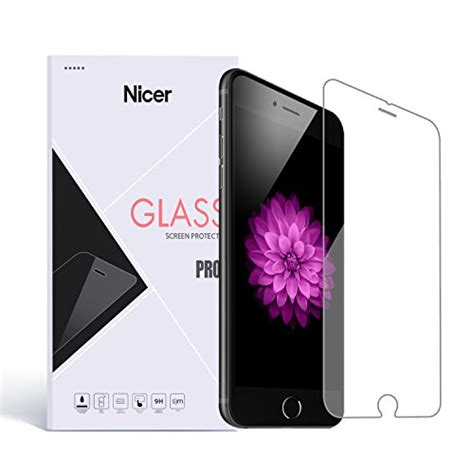 Iphone 6 47 Inch Screen Protector Tempered Glass 2in1 iphone 7 6s 6 screen protector nicer tempered glass screen protector premium high