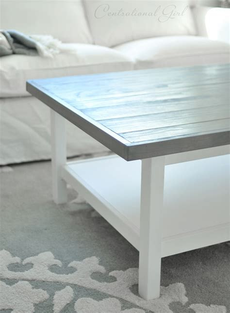 Weathered Gray Coffee Table Weathered Gray Coffee Table Centsational
