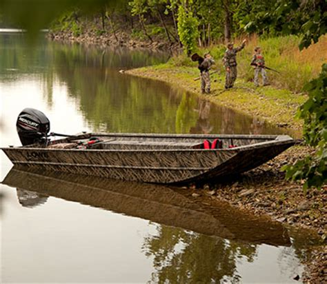 duck hunting and fishing boats lowe 2018 roughneck series all welded aluminum jon boats