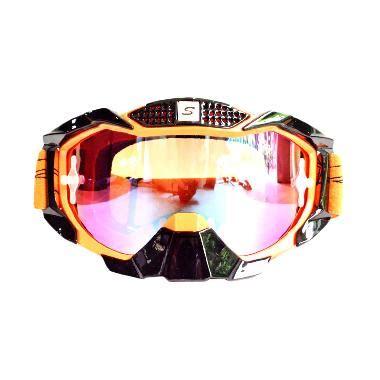 Kacamata Goggle Snail Kaca Pelangi 1 jual snail mx36 kaca pelangi hitam list orange kaca mata